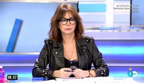 Ana Rosa en ple programa.