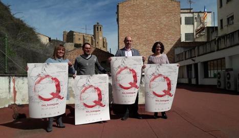 La presentació de la Fira Q de Balaguer d'aquest any.