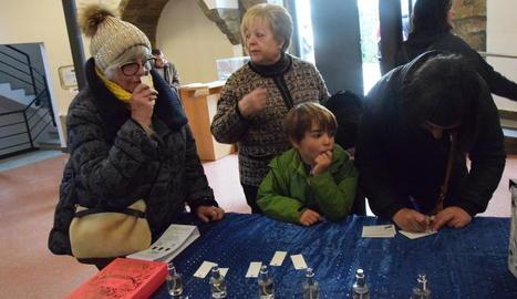 Votacions ahir a la Seu d'Urgell.