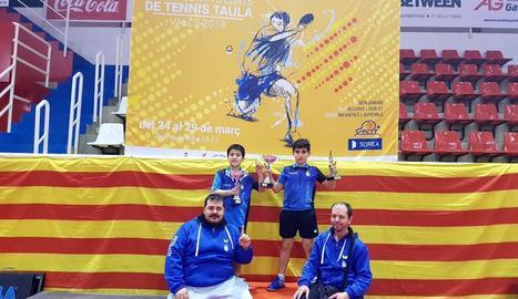 Dos títols catalans per al CTT Borges