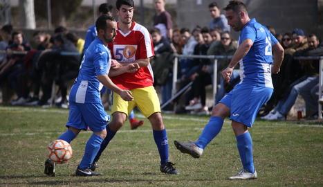 El Torregrossa i el Guissona B van jugar un bon partit que va acabar del cantó local (3-0).