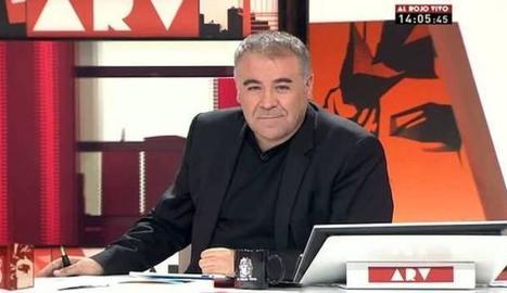 García Ferreras, de vacances.