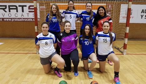 Les vuit jugadores de l'Associació que han estat convocades per diferents seleccions.