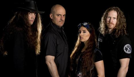 El grup heavy A Sound of Thunder, intèrprets de 'The Reapers'.
