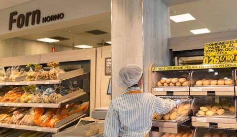 El nou model de fleca que Mercadona està posant als seus supermercats.