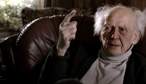 El sociòleg Zygmunt Bauman, ja mort, va aportar reflexions.