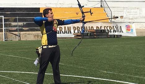 Miquel Àngel Pifarré, en foto d'arxiu, competirà a la Xina.