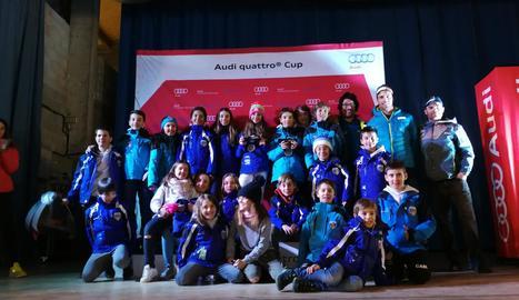 Els esquiadors del CAEI van aconseguir un bon nombre de podis durant el cap de setmana.