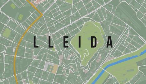 VÍDEO. Una pel·lícula converteix Lleida en la ciutat més
