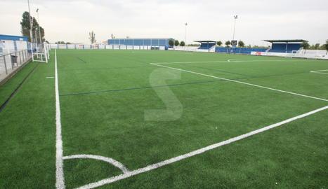 El camp de futbol de l'AEM