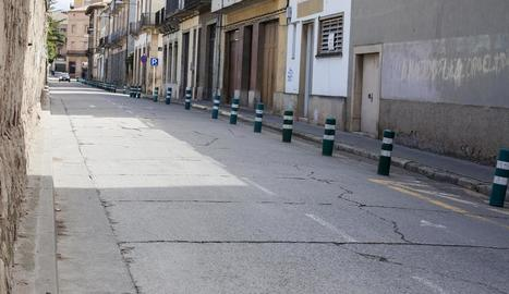 Imatge de l'aspecte actual del carrer del Segle XX.