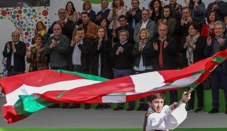 El PNB va celebrar ahir l'Aberri Eguna (Dia de la Pàtria) amb un acte públic a Bilbao.