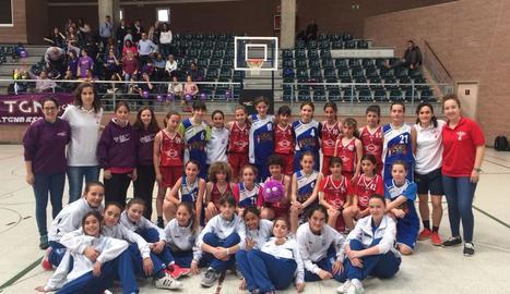 El club lleidatà ha pres part en el torneig tarragoní amb diversos equips.