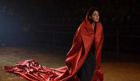 Nora Navas a 'Bodas de sangre', una de les obres de l'oferta.