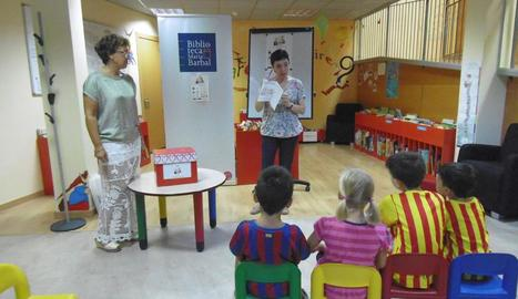 Activitat infantil recent a la biblioteca Maria Barbal de Tremp.