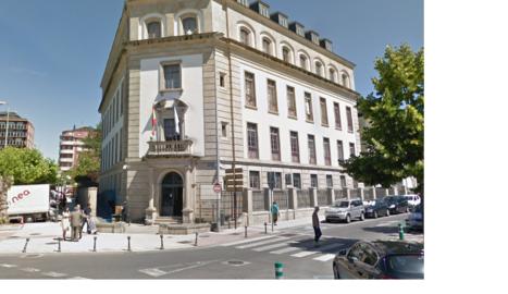 Vista de l'exterior de l'Audiència Provincial de Lugo.