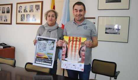 Montse Coma i Jordi Duran van presentar ahir el certamen.