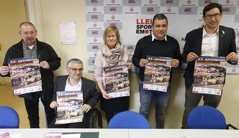 La vintena edició de la prova es va presentar ahir a la regidoria d'Esports de la Paeria.