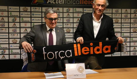 Força Lleida, amb el Turó de la Seu Vella