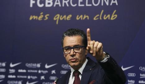 Josep Vives, portaveu del FC Barcelona.