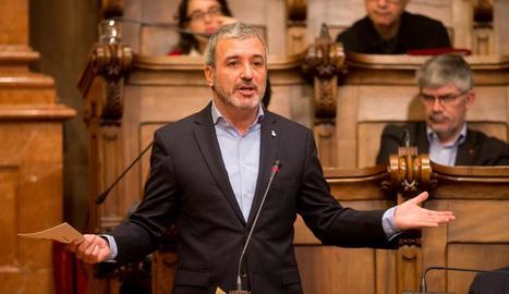 El líder del PSC a l'ajuntament de Barcelona, Jaume Collboni.
