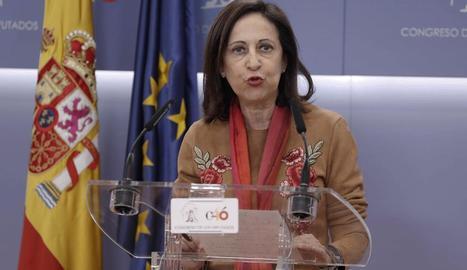 La portaveu socialista al Congrés, Margarita Robles.