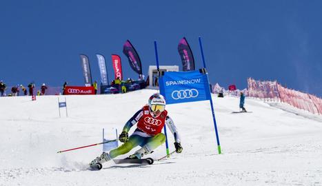 Bargalló va obtenir ahir el seu segon títol estatal a Sierra Nevada.
