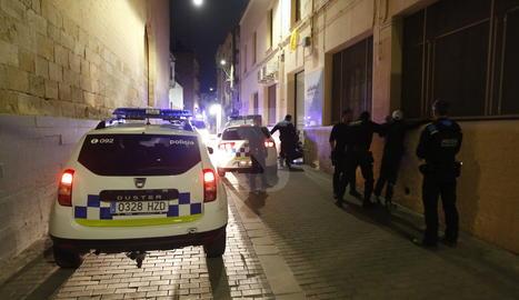 Baralla al carrer Panera de Lleida