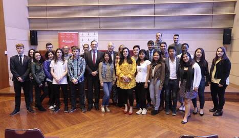 Becats 28 joves llatinoamericans per estudiar a la UdL