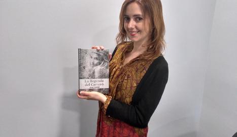 La periodista Sílvia Colomé, autora de 'La llegenda del Carreró'.