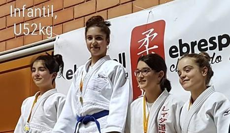 Set medalles per al Dojo Lleida