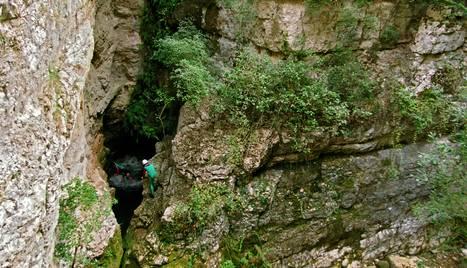 Imatge de l'enclavament natural conegut com a Forat del Bulí.