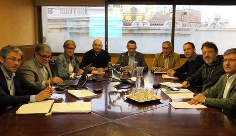 Imatge d'arxiu d'una reunió del consell de l'EMU.