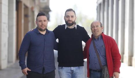 Jordi Capdevila, Lluís Rodero i Ramon Porta, tècnic, director esportiu i president del Vila-sana.