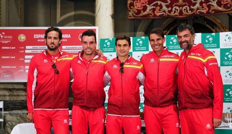 Ferrer-Zverev i Nadal-Kohlschreiber, avui a la Copa Davis