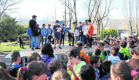 Durant la jornada d'ahir es van organitzar diferents activitats lúdiques.