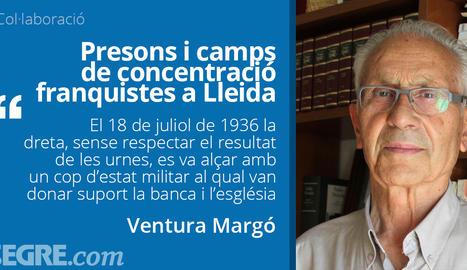 Presons i camps de concentració franquistes a Lleida