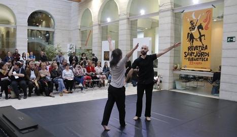Coreografia el 2015 a Lleida sobre una novel·la de Pep Coll.