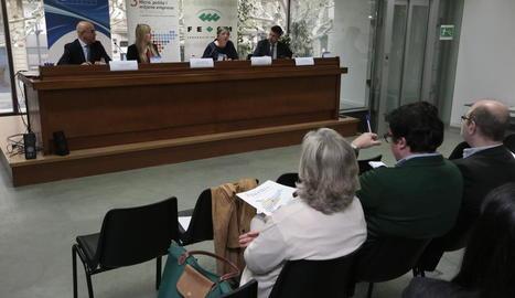 La digitalització, a debat a les pimes de Lleida