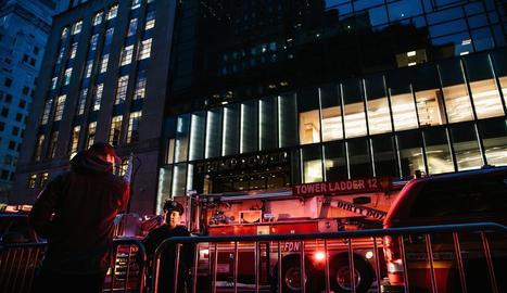 Un mort per un foc a la Torre Trump