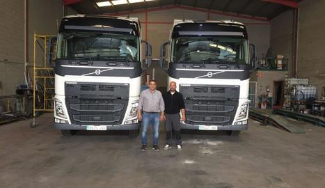 Vint camions permeten atendre les necessitats  dels clients