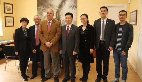 La UdL impulsa crear un Centre de Cultures Hispàniques a la Xina