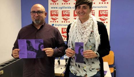 Ramon Moreno i Elena Farrero van presentar ahir la campanya.