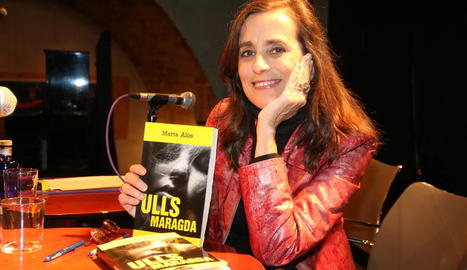 Marta Alòs presenta a Lleida el debut en novel·la negra, 'Ulls maragda'