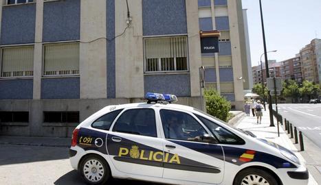 Imatge de la Prefectura Superior de Policia de Saragossa.