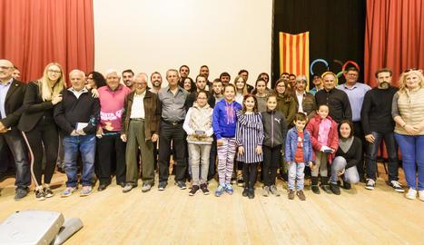 Puigverd homenatja els seus millors esportistes