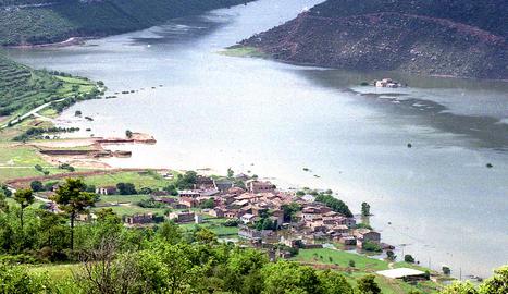 Tiurana mor ofegada pel pantà de Rialb