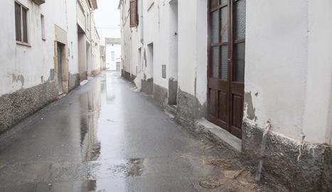 Imatge del carrer en el qual va tenir lloc l'incident.