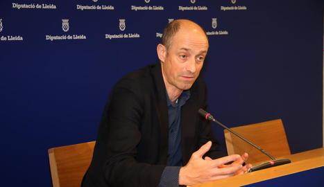 El director de l'organisme de recaptació, Xavier Monné.