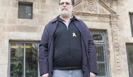 Salvador Bori, excoordinador de l'entitat a Tàrrega.